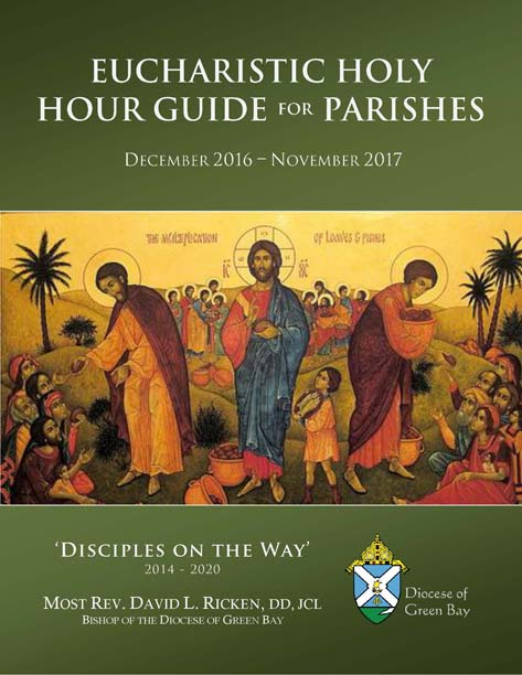 Eucharistic Holy Hour Guide for Parishes Cover 2016-2017