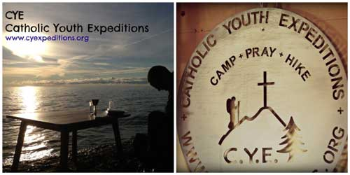 Catholic Youth Experience Collage