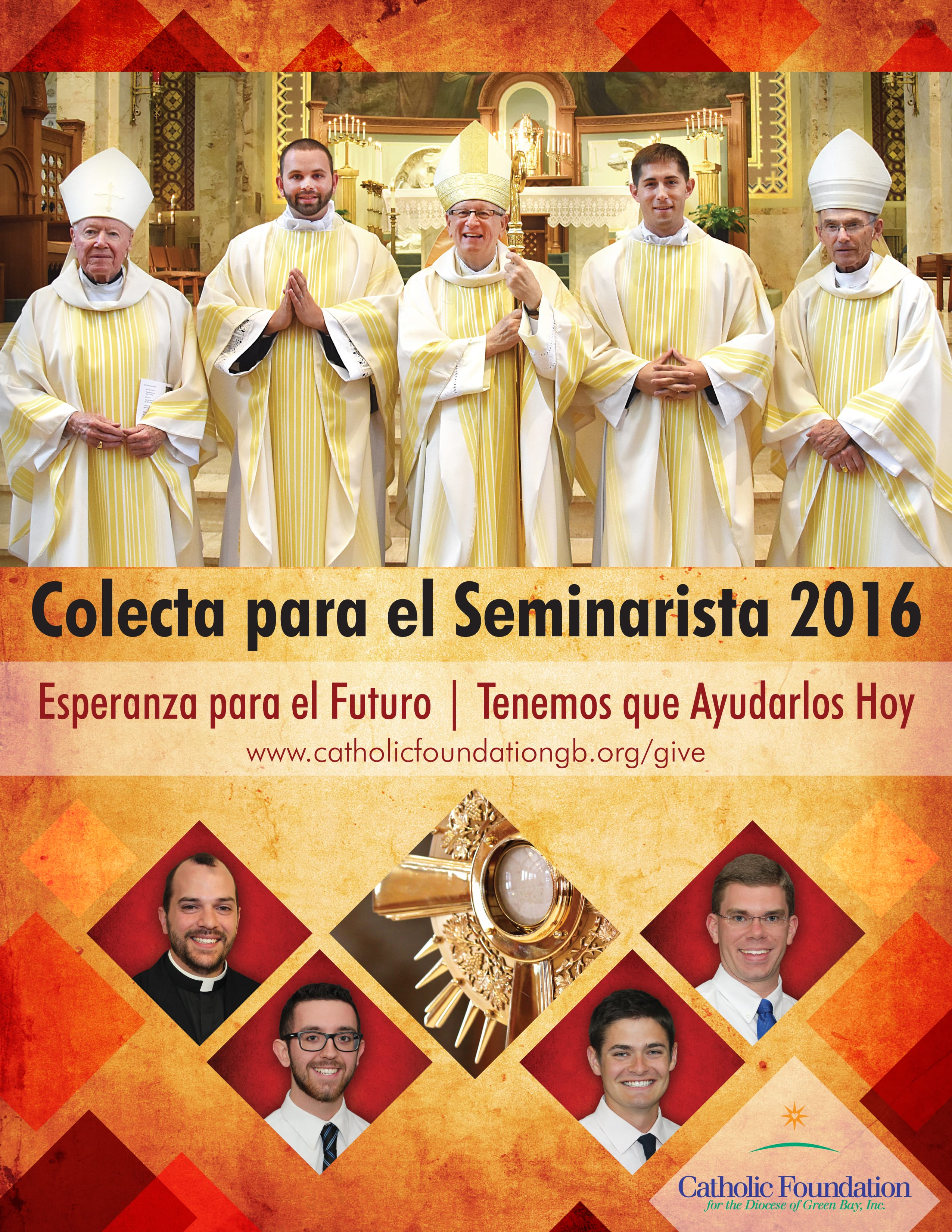 2016 Seminarian Collection Poster Spanish