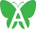 Awareity Butterfly in green150