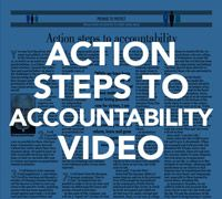 Action Steps to Accountability - A Message from Bishop David L. Ricken