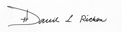 Bishop Ricken Signature