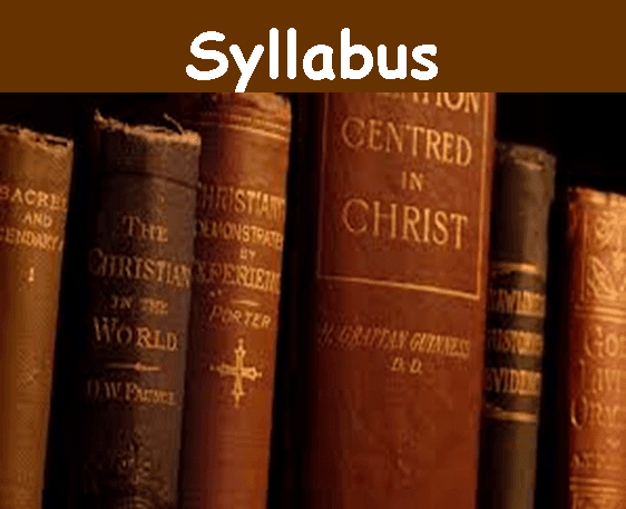 Click here to view course syllabus