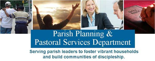 Parish Planning Pastoral Services Header