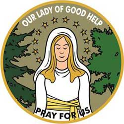 Our Lady Good Help Activity Patch
